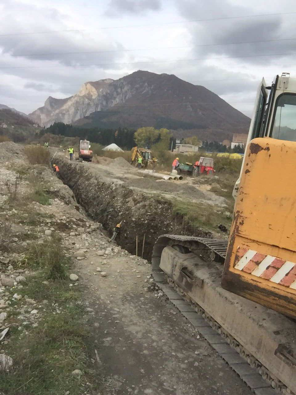 Rehabilitation and Construction of the Sewerage Network in Berane,Montenegro